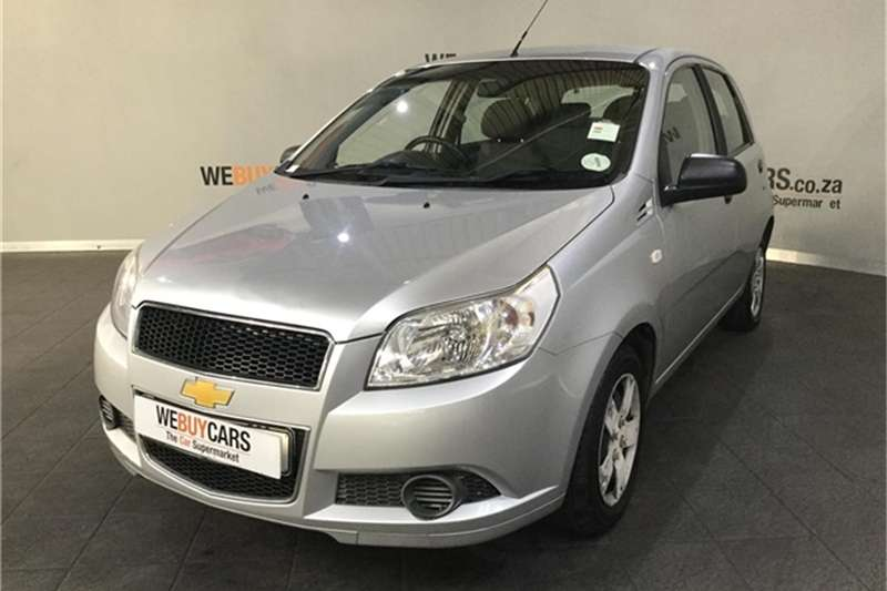 2011 Chevrolet Aveo 1.6 L hatch