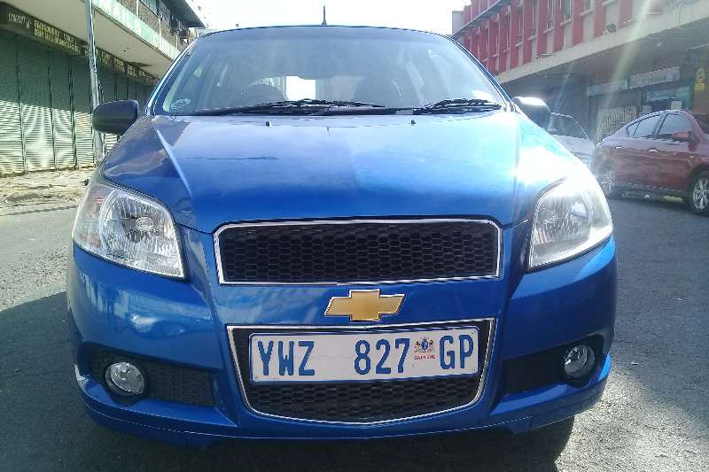 2010 Chevrolet Aveo 1.6 L hatch