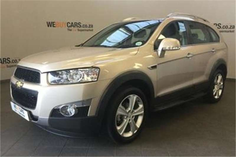 Chevrolet Captiva 2.2D AWD LTZ 2012