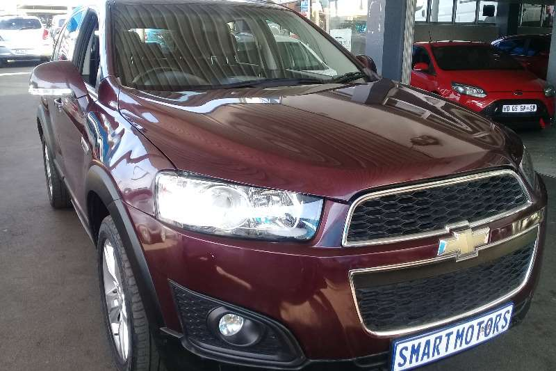 Chevrolet Captiva 2.4 LT 2012