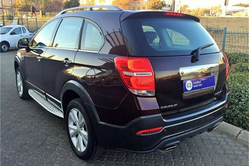 Chevrolet Captiva 2.4 LT 2017