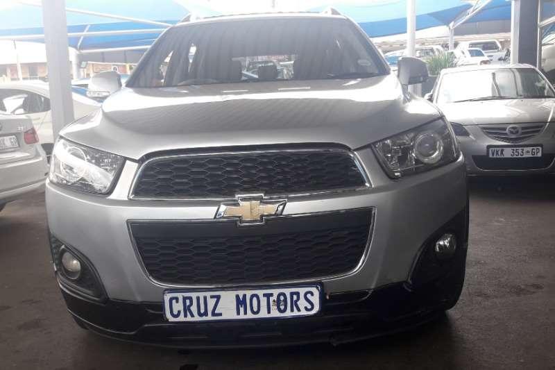 Chevrolet Captiva 2.4 LT auto 2013