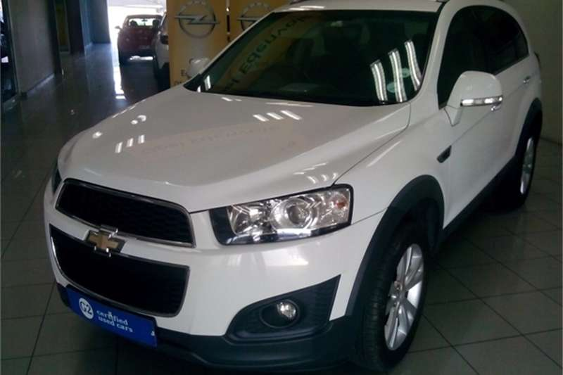 Chevrolet Captiva 2.4 LT auto 2014