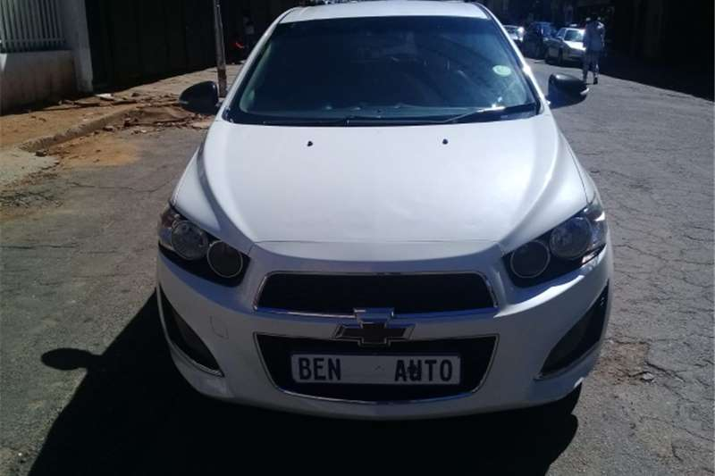 2014 Chevrolet Sonic hatch 1.4T RS