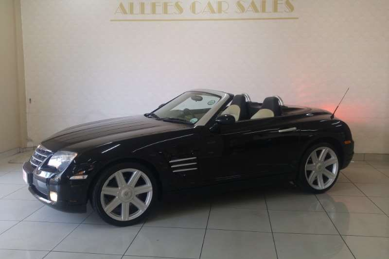 2006 Chrysler Crossfire 3 2 Roadster Limited Automatic Convertible