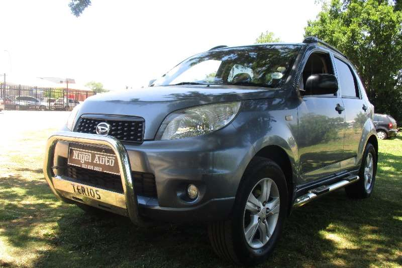 2010 daihatsu terios 1 5 crossover suv petrol rwd manual cars for sale in gauteng r. Black Bedroom Furniture Sets. Home Design Ideas