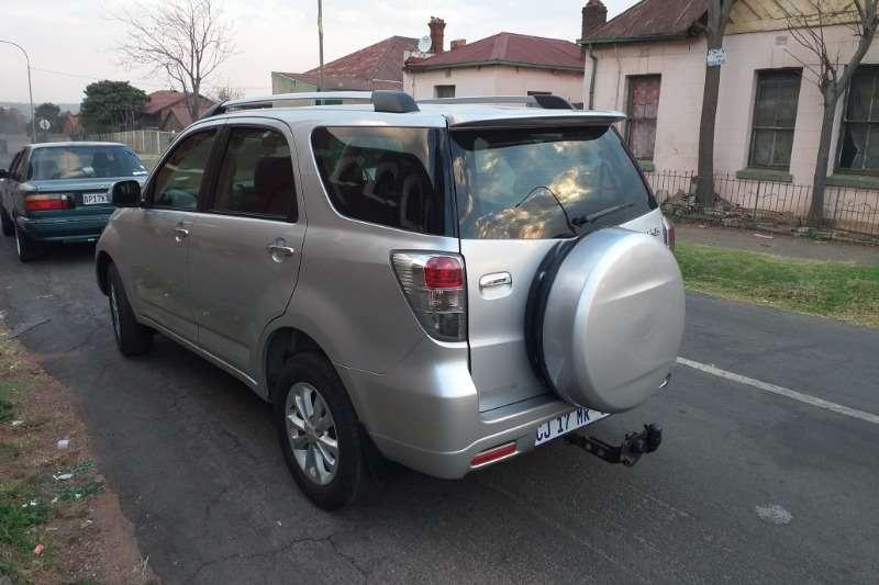 2012 Daihatsu Terios Long 1.5 7 seater automatic