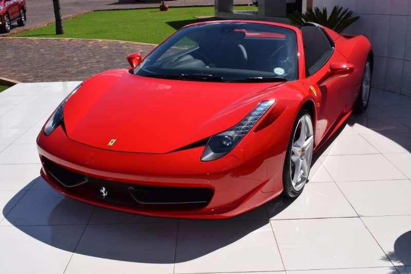 Ferrari 458 Spider 2012