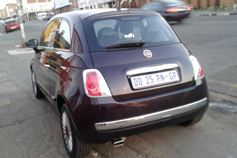 2014 fiat 500 1 2 lounge auto hatchback petrol fwd automatic cars for sale in gauteng. Black Bedroom Furniture Sets. Home Design Ideas