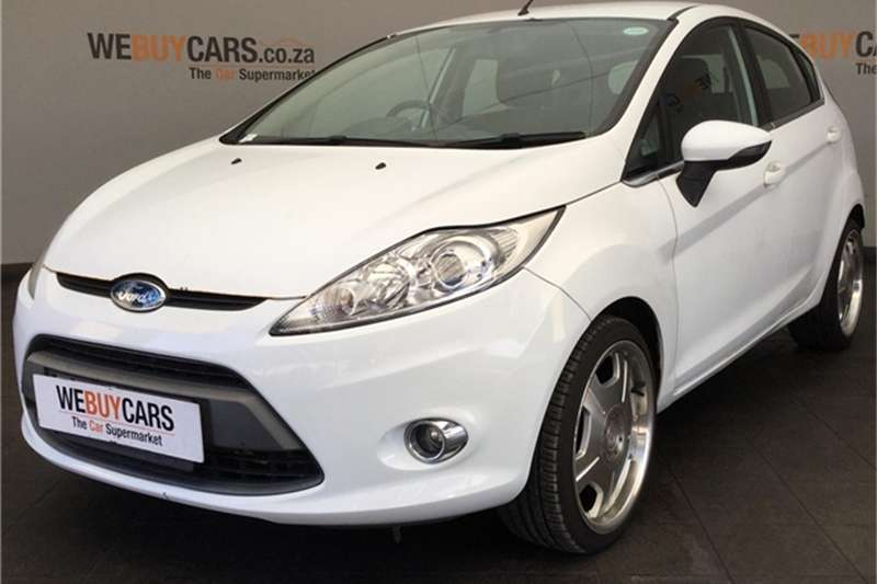 Ford Fiesta 1.6 5-door Titanium 2008