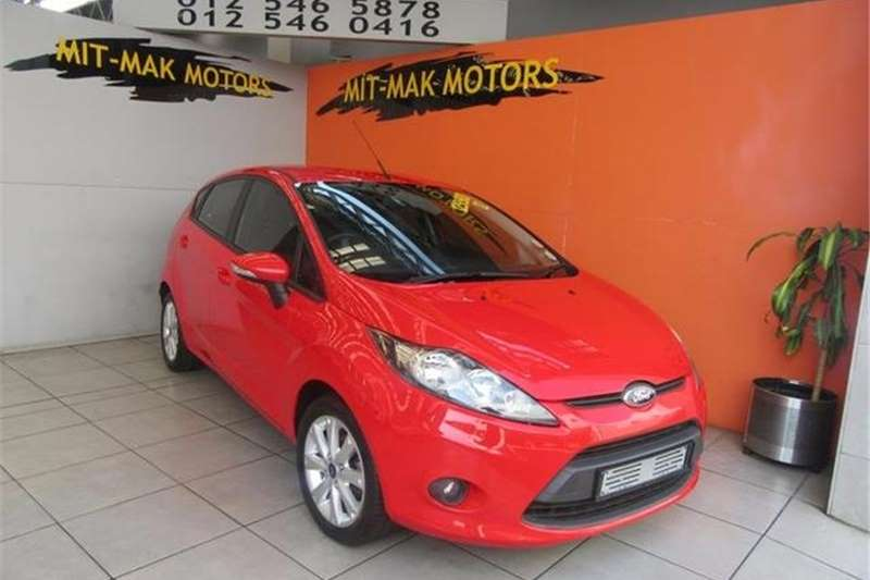 Ford Fiesta 5 door 1.6 Trend 2012