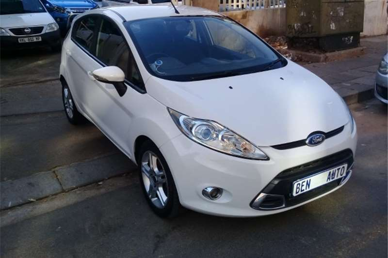 2011 Ford Fiesta hatch 5-door FIESTA 1.5 TDCi TREND 5Dr