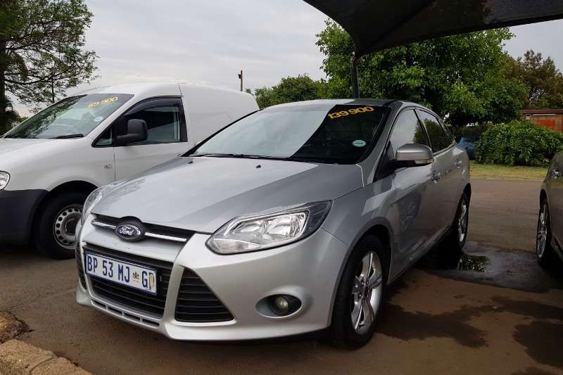 2011 Ford Focus 2.0TDCi sedan Si Powershift