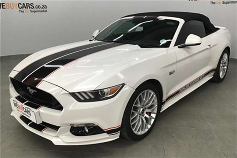 Ford Mustang 5 0 Gt Convertible Auto 2017