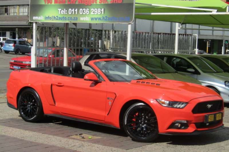 Ford Mustang Ford Mustang ROUSH 5 0 GT SUPERCHARGER 500 KW AND 2016