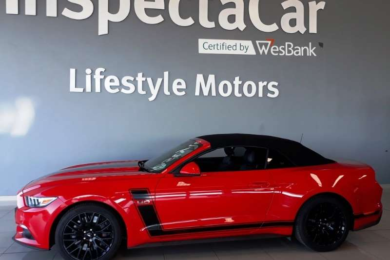 2016 Ford Mustang 5.0 GT convertible auto