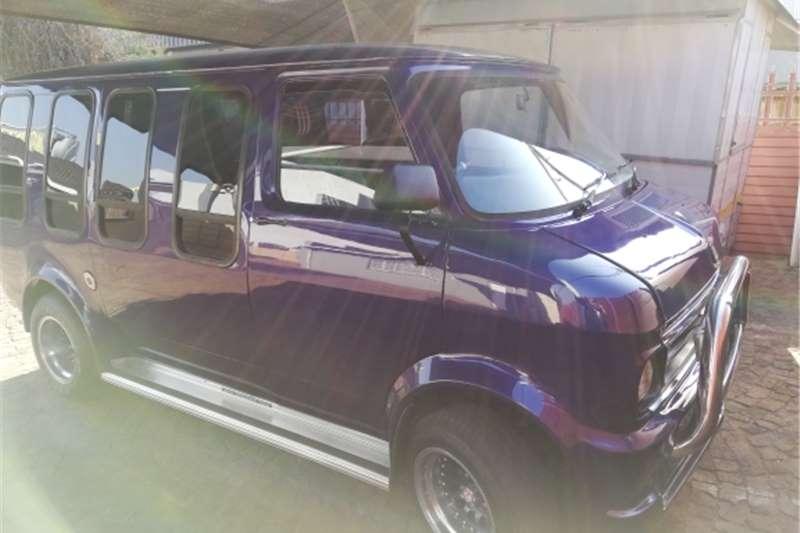 1986 Ford Transit Custom Kombi Van LWB