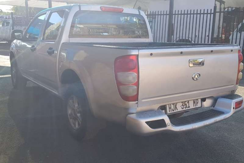 GWM Steed 2.4MPi double cab Lux 2011