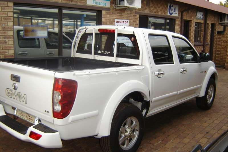 GWM Steed 5 2.4L double cab Lux 2014