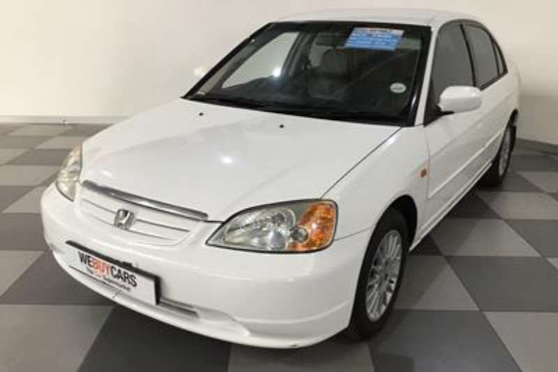 Honda Civic 170i 4 Door Sedan 2001