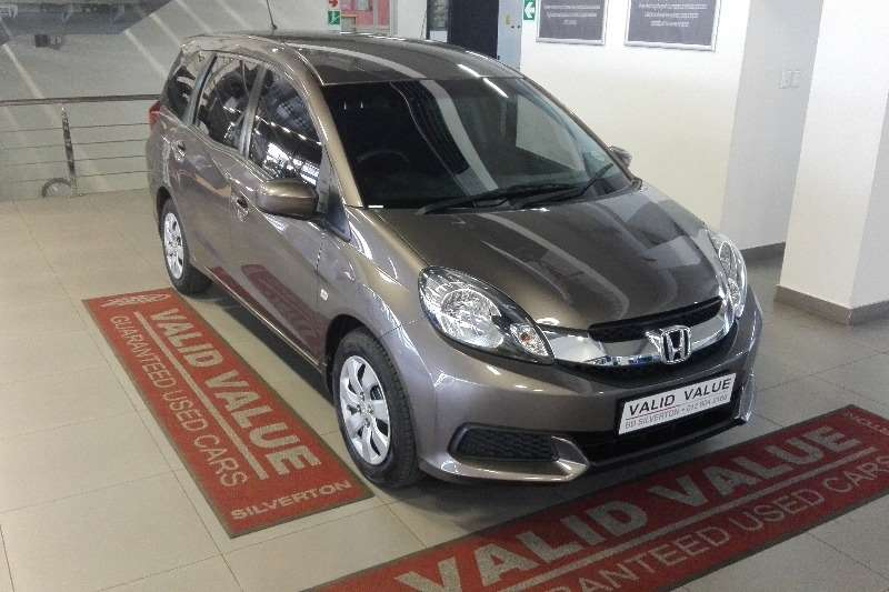 2016 Honda Mobilio 1 5 Comfort 7 Seater Cars For Sale In Gauteng R