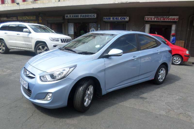 2014 Hyundai Accent 1 6 Gls Sedan Petrol Fwd Manual