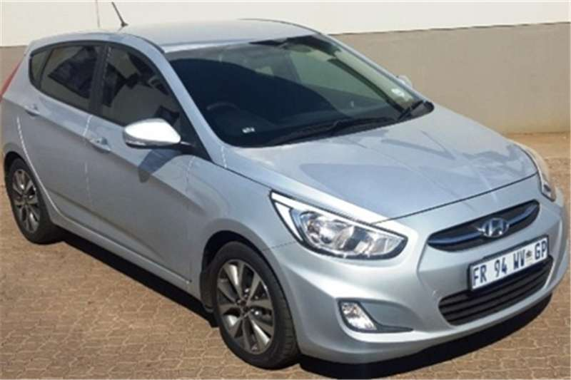 Hyundai Accent hatch 1.6 Fluid 2017