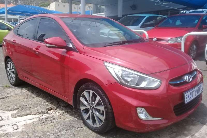 2017 Hyundai Accent sedan 1.6 Fluid