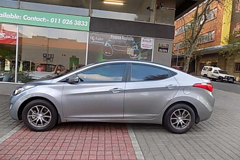 2013 hyundai elantra 1 6 gls sedan petrol fwd manual cars for sale in gauteng r 125. Black Bedroom Furniture Sets. Home Design Ideas