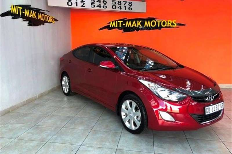 Hyundai Elantra 1.8 Executive Auto 2012