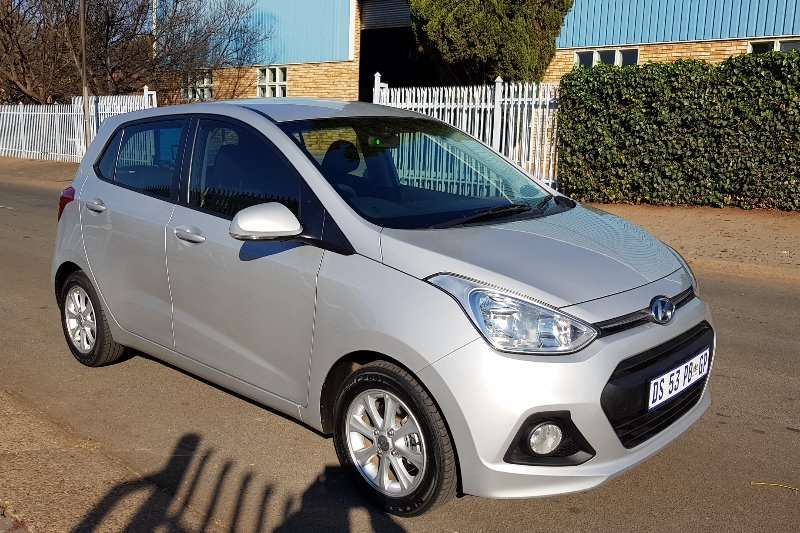 Hyundai I10 Grand  1.25 Fluid auto 2015