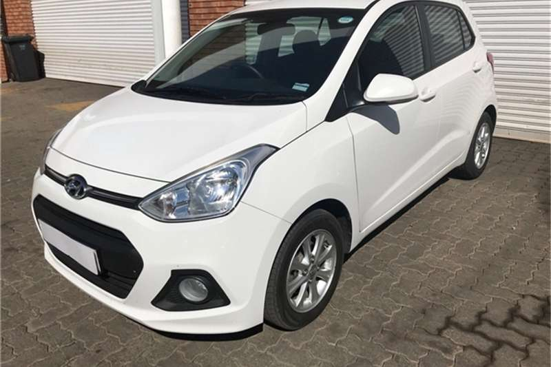 Hyundai I10 Grand  1.25 Fluid auto 2016