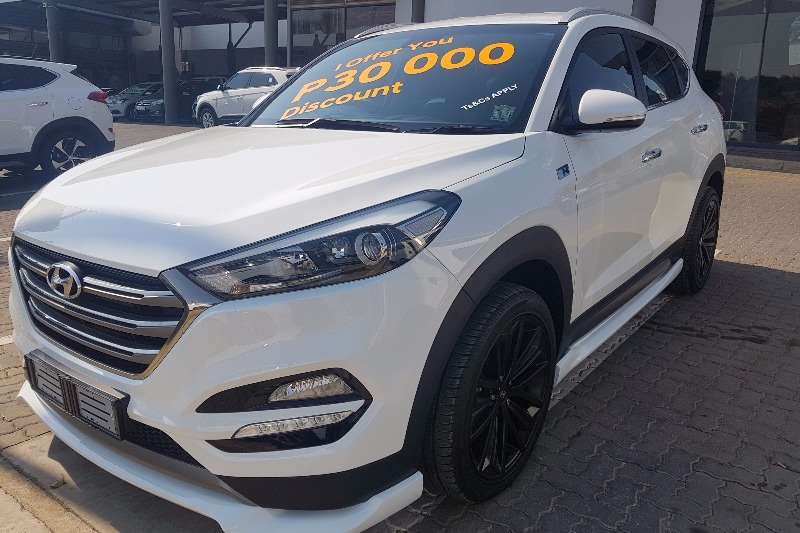 Hyundai Tucson 1.6TGDi Executive Manual 2017