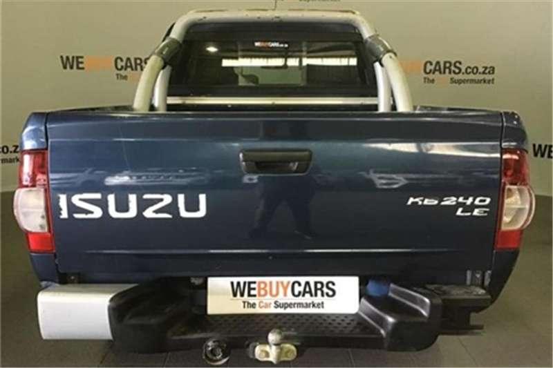 Isuzu KB 240 double cab LE 72 2012