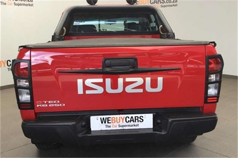 Isuzu KB 250D Teq double cab Fleetside 2016