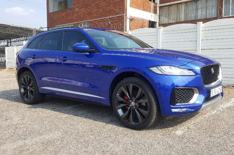 2016 Jaguar F-Pace 30d AWD S First Edition