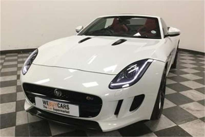 Jaguar F Type S Convertible 2014