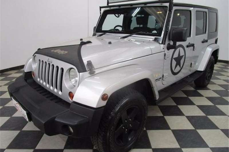 Jeep Wrangler Unlimited 2.8CRD Sahara 2010
