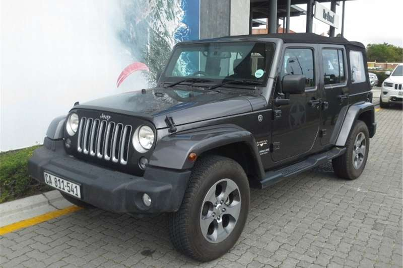 Jeep Wrangler Unlimited 3.6L Sahara 2017