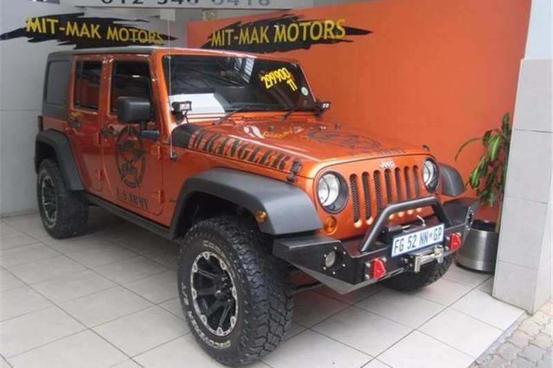 Jeep Wrangler Unlimited 3.8L Rubicon 2011
