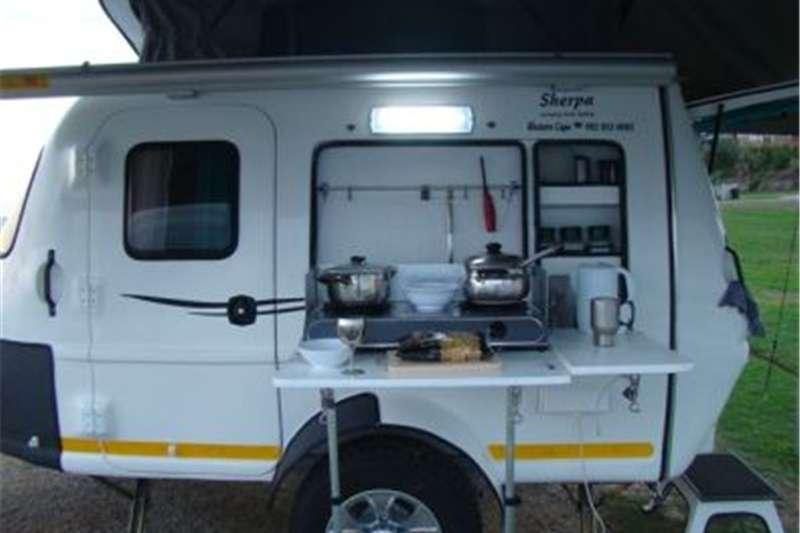 Kawasaki Sherpa Tiny (Fibreglass caravans) 0