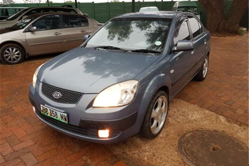 Kia Rio 1.4 4-door high-spec 2007