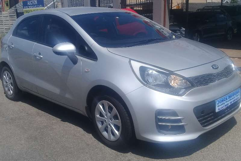 2016 Kia Rio 1.4 5 door high spec