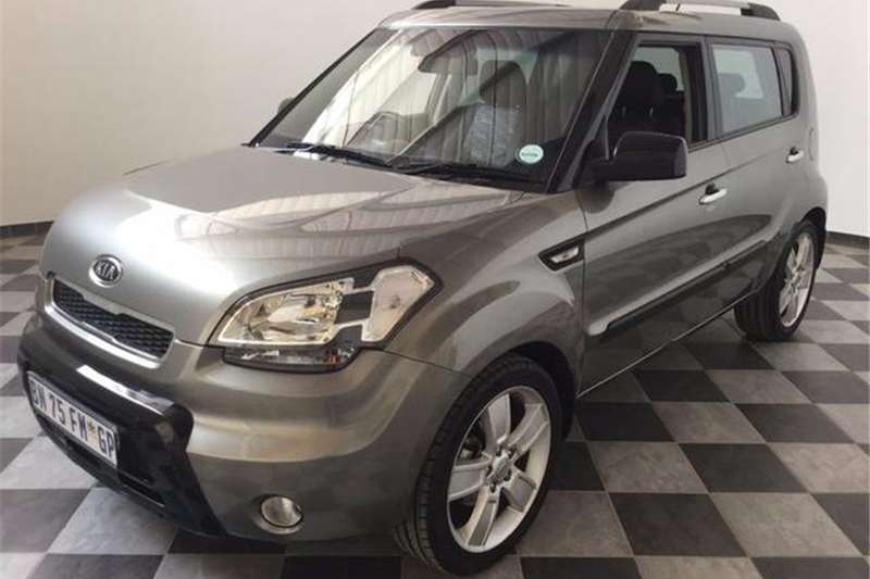 Kia Soul 1.6 high-spec 2011