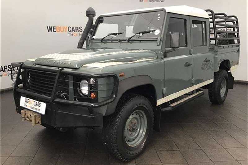 2009 Land Rover Defender 130 TD double cab