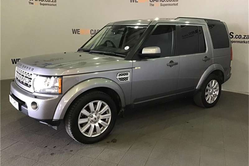 2012 Land Rover Discovery 4 3.0 TDV6 HSE