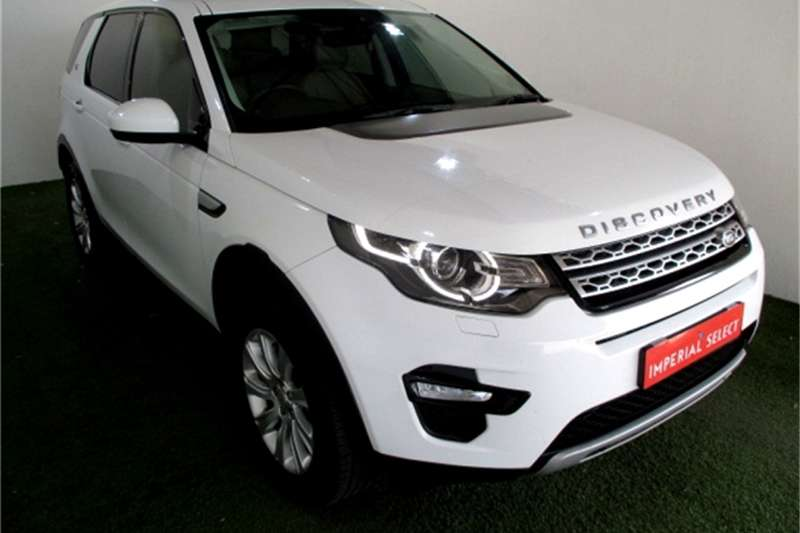 2016 Land Rover Discovery Sport HSE SD4