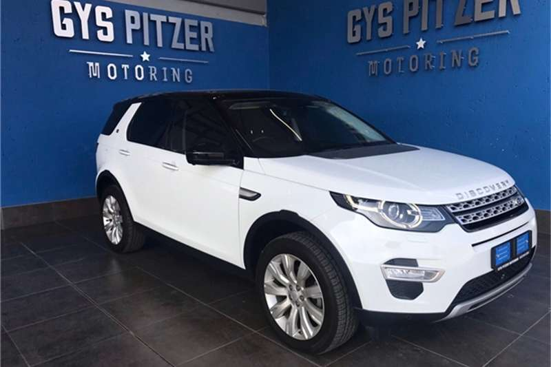 2016 Land Rover Discovery Sport HSE Luxury SD4