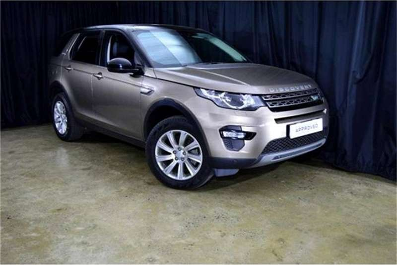 2018 Land Rover Discovery Sport SE TD4