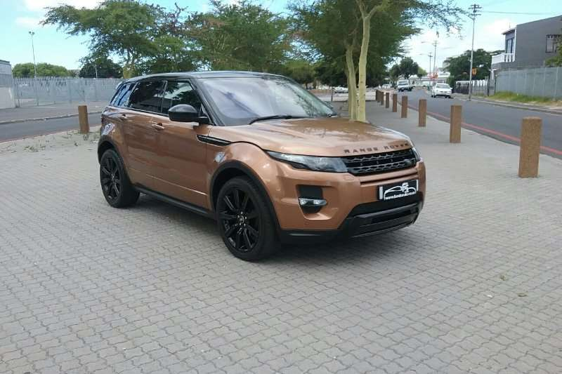 2014 Land Rover Range Rover Evoque 5-door EVOQUE 2.0 SD4 HSE DYNAMIC